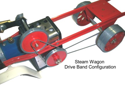 Mamod Steam Wagon Drive Bands SW1