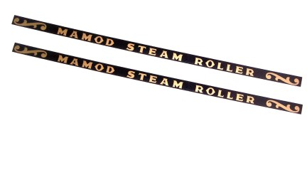 Mamod Steam Roller Canopy Stickers Easyfit (x2)