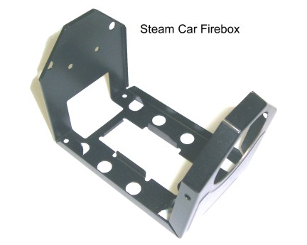 Mamod Steam Car Firebox Black Part