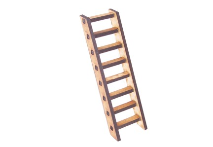 8 Rung Wooden Ladder KIT
